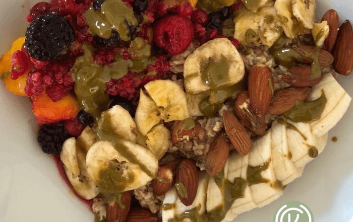 Warmer Frühstücksporridge