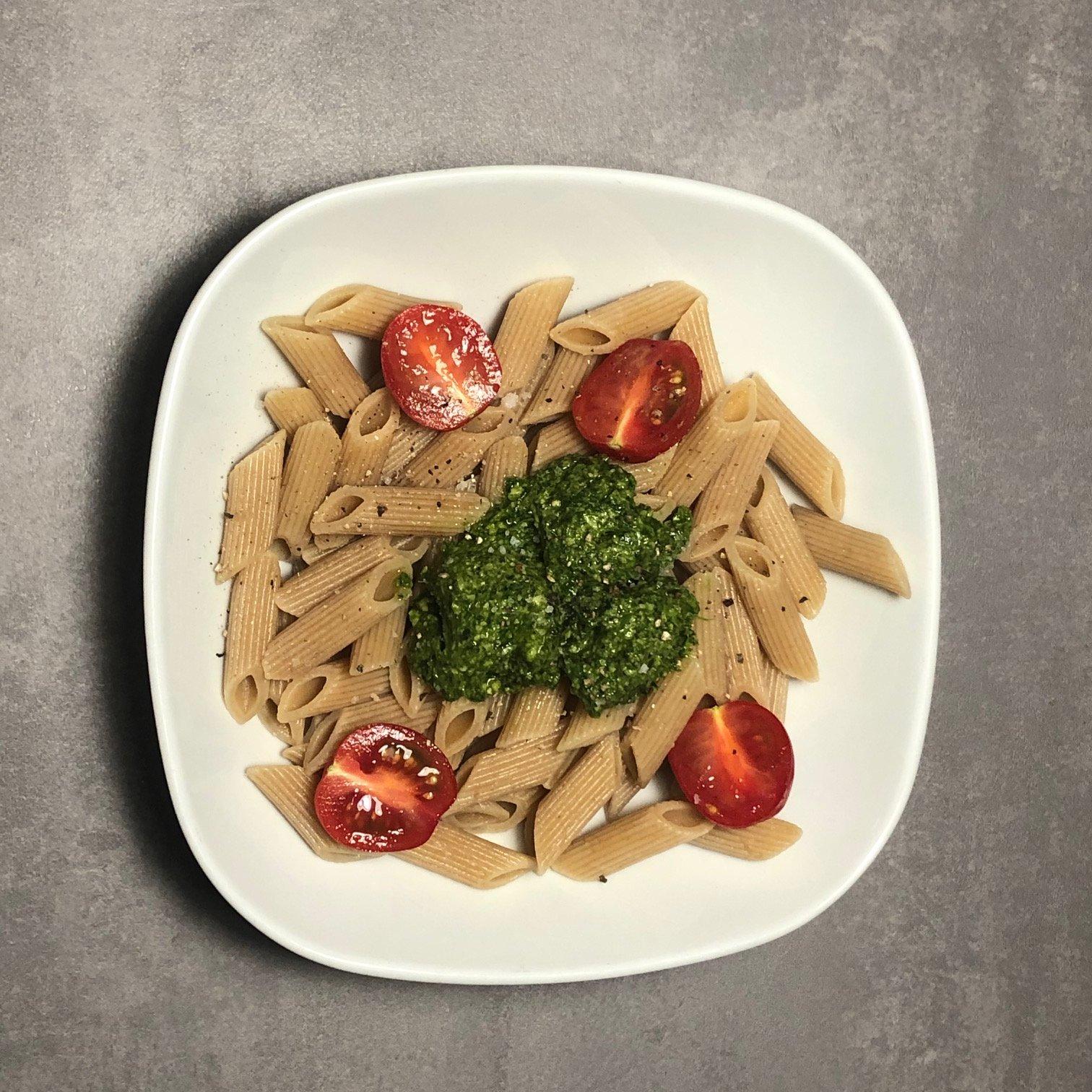 Bärlauchpesto ist immer eine schnellgemachte Alternative für ein leckeres Gericht